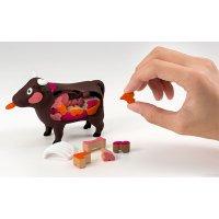 【遊んで学べる立体パズル】一頭買い!! 特選焼肉パズル-ウシ-