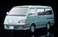 【ミニカー】TOMYTEC 1/64スケール トヨタ ハイエースワゴン スーパーカスタムG(薄緑)