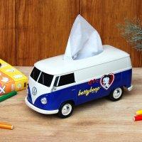 VWバス ティッシュケース+(プラス) カップホルダー付き BETTY BOOP™ コラボ
