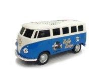 フォルクスワーゲン T1バス Betty Boop仕様 ブルー  Bluetooth スピーカー