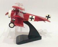 【レプリカ】フォッカーDr1戦闘機・1/24 戦闘機 攻撃機 木製 完成品  飛行機 模型 モデル