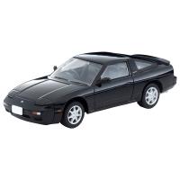 【予約販売】ミニカー TOMYTEC 1/64スケール 日産180SX TYPE-II(黒)91年式