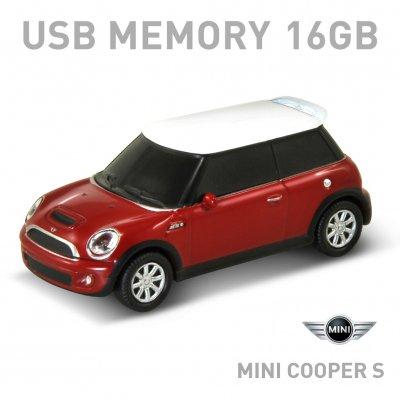 【16GB】Mini Cooper S レッド