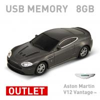 【8GB】Aston Martin V12 Vantage シルバー USBメモリー