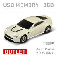 【箱ダメージアウトレット特価】Aston Martin V12 Vantage ホワイト 8GB
