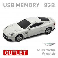 【箱ダメージアウトレット特価】Aston Martin Vanquish ホワイト 8GB