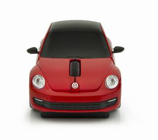 VW The Beetle ザビートル 無線マウス レッド