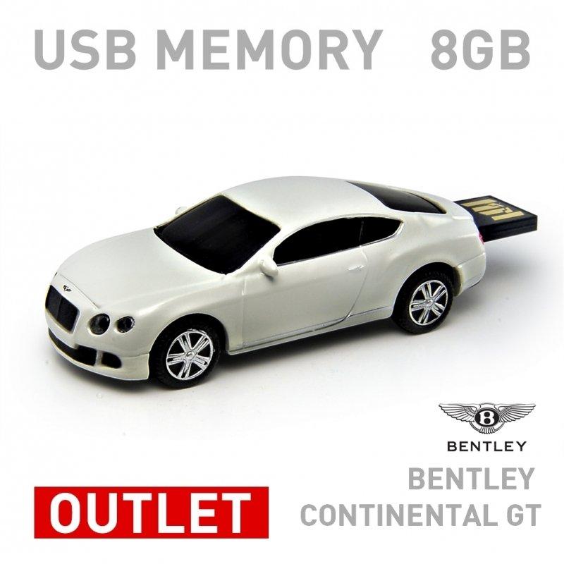 �٥�ȥ졼 ������ͥ� GT �ۥ磻�ȡ�8GB��Bentley��Continental GT White 8GB