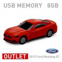 【箱ダメージアウトレット特価】2015 Ford Mustang GT レッド 8GB