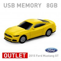【箱ダメージアウトレット特価】2015 Ford Mustang GT イエロー 8GB