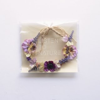 Kids Flower Crown/ Pansy