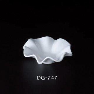 二ノ宮クリスタル 灰皿 フラワー(S)WH (6個セット) (DG-747)