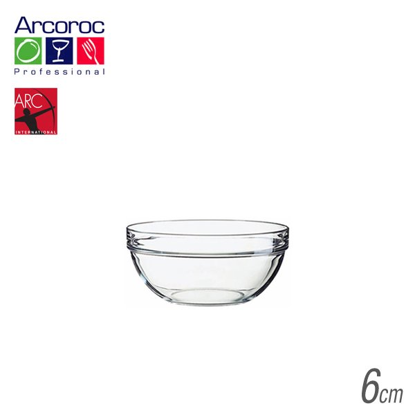 Arc(アルク) アルコロック Stackable bowl アンプ ボール6 40ml (6個セット) (JD-1433)