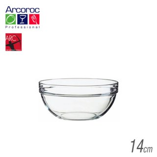 Arc(アルク) アルコロック Stackable bowl アンプボール14 620ml (36個セット) (JD-1438)