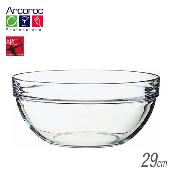 Arc(アルク) アルコロック Stackable bowl アンプボール295900ml (6個セット) (JD-1409)