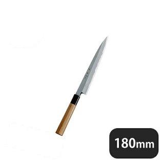 神田上作 柳刃 180mm (129011)