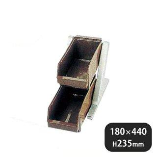 DXオーガナイザー 2段1列 ブラウン (094032)