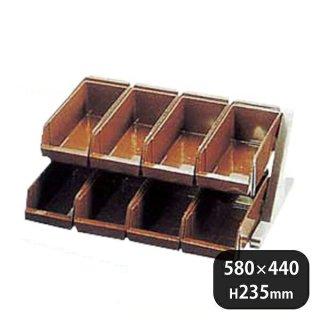 DXオーガナイザー 2段4列 ブラウン (094033)