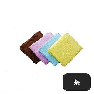 タオル #200 (12枚入) 茶 (379040)