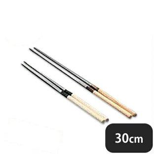 水牛桂柄盛箸 30cm(082033)