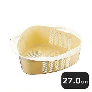 PP製 トライアングルトライ ザル 27cm(387057)