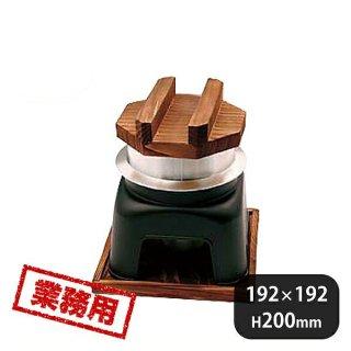 釜飯カマドセット黒 箱入り (296001)