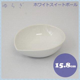 ホワイトスイートボールゆらぎ M 10枚セット 15.8cm (JS-160)