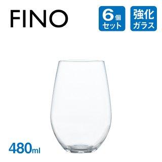 タンブラー 480ml 6個 フィーノ 東洋佐々木ガラス (B-21123CS)