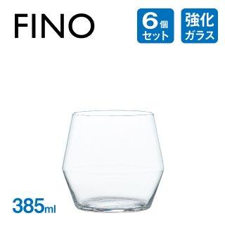 タンブラー 385ml 6個 フィーノ 東洋佐々木ガラス (B-21124CS)
