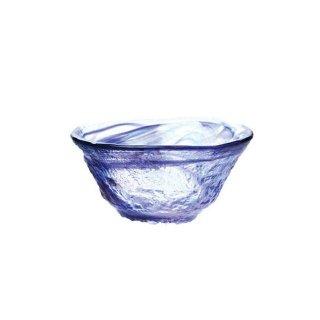 ぐい呑 和がらす 日本酒 45ml 青 3個 東洋佐々木ガラス (42091-3)