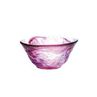 ぐい呑 和がらす 日本酒 45ml 赤 東洋佐々木ガラス (42092)