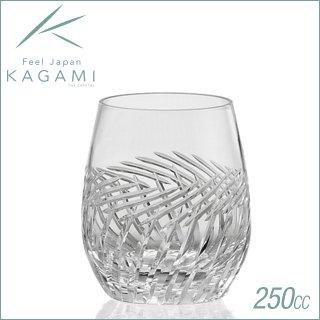 カガミクリスタル ロックグラス<麦畑> 250cc (T741-2807)