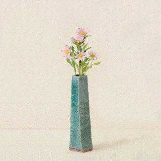 YAMAKI:IKAI(ヤマキイカイ)【用と美】花器 常滑焼(高さ18cm) (Y-2362)