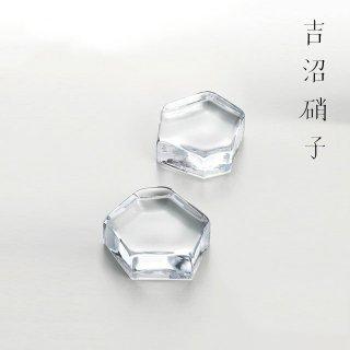 吉沼硝子 変形多角形アミューズ クリア (YD1-AMCR)