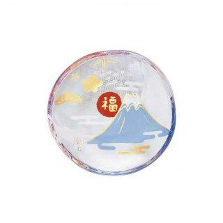 豆皿 富士山 めでたmono アデリア 石塚硝子 (6069)
