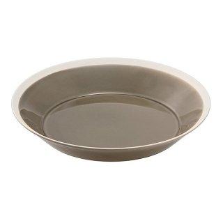 木村硝子店 dishes 230 plate (fawn brown) 3個セット (15675)