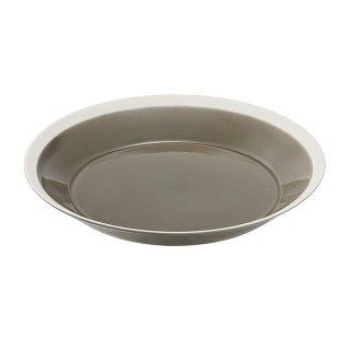 木村硝子店 dishes 220 plate (fawn brown) 3個セット (15681)