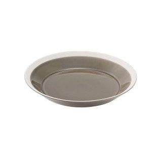 木村硝子店 dishes 180 plate (fawn brown) 5個セット (15693)