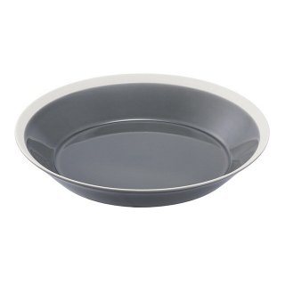 プレート dishes 230 plate fog gray 3個入 木村硝子店×イイホシユミコ (15676) キッチン、台所用品
