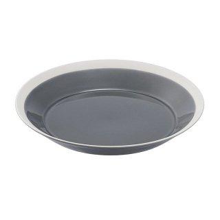 木村硝子店 dishes 220 plate (fog gray) 3個セット (15682)