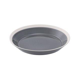 木村硝子店 dishes 200 plate (fog gray) 5個セット (15688)