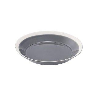 木村硝子店 dishes 180 plate (fog gray) 5個セット (15694)