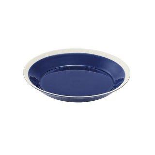 木村硝子店 dishes 180 plate (ink blue) 5個セット (15697)