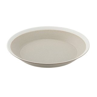 木村硝子店 dishes 220 plate (sand beige) /matte 3個セット (15684)