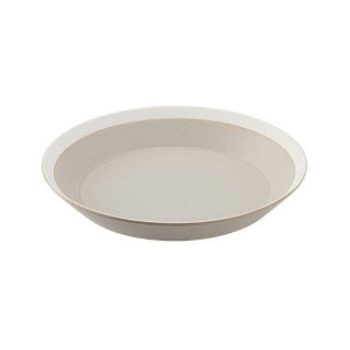 木村硝子店 dishes 200 plate (sand beige) /matte 5個セット (15690)