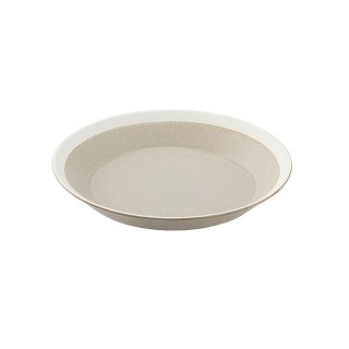 木村硝子店 dishes 180 plate (sand beige) /matte 5個セット (15696)