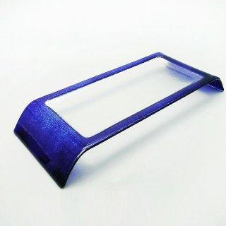 吉沼硝子 ブリッジプレート 32cm コバルト (17-603C)
