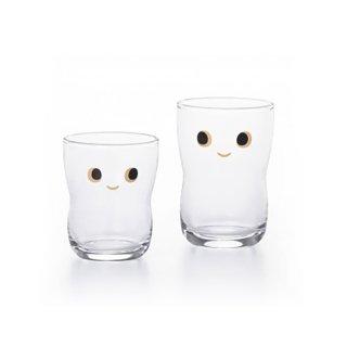 アデリア(石塚硝子) つよいこグラスnicoS&Mセット 130ml,185ml (S-6305)