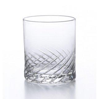 アデリア(石塚硝子) スラッシュ オールド10 (6個セット) 300ml [日本製 カクテル バー カット グラス 業務用 シンプル 箱入り] (B-2325)