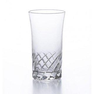 アデリア(石塚硝子) スラッシュ 一口グラス (6個セット) 140ml [日本製 カクテル バー カット グラス 業務用 シンプル 箱入り] (B-2326)